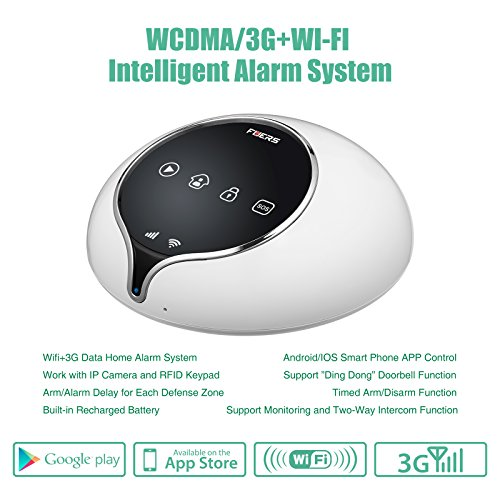 Fuers S1WG Wireless 3G WIFI Security Smart Burglar Home Alarm System Kit-DIY Auto Dial,Free APP Remote Control