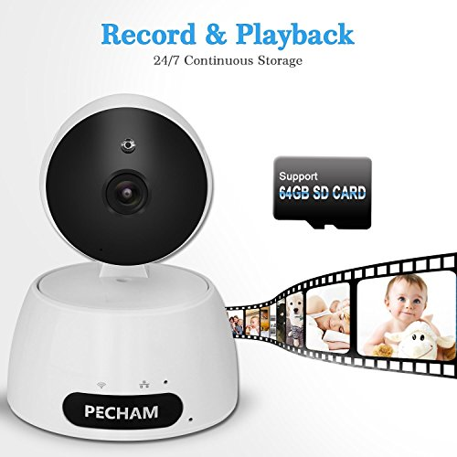 PECHAM 960P HD WiFi Security