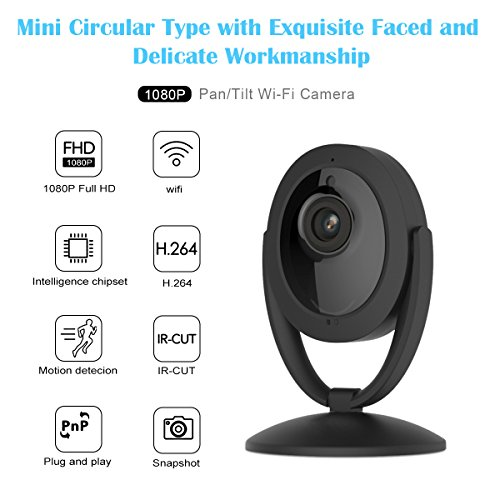 Wireless Camera, MixMart 1080P Smart