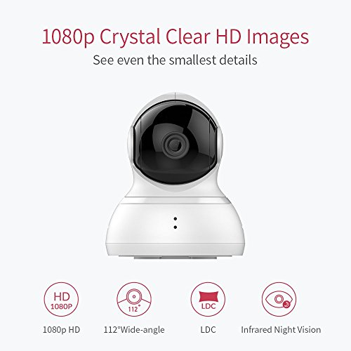 YI Dome Camera, 1080P HD