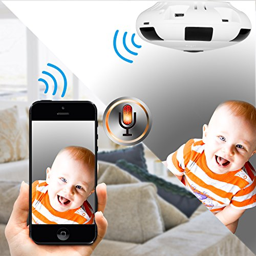 Camera 360 app Security Degree Surveillance Panoramic Wifi Wireless HD 1080P Motion Detection IR Night Vision Two Way Audio Monitor Baby Elderly Pets