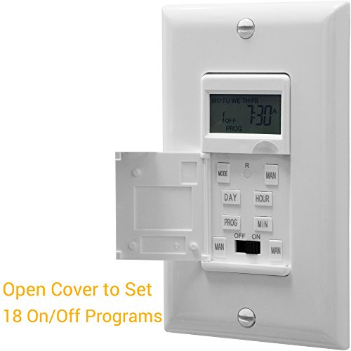 Enerlites HET01-C Programmable Timer Switch