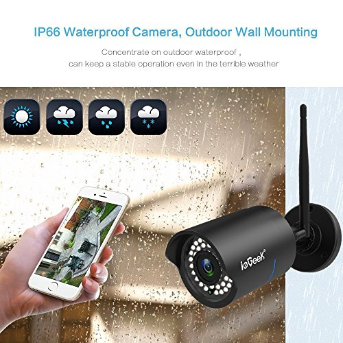 ieGeek Wifi Wireless Security Camera
