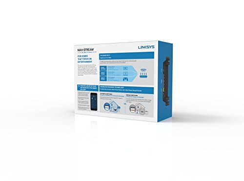 Linksys Max-Stream AC2200 MU-MIMO Tri-band
