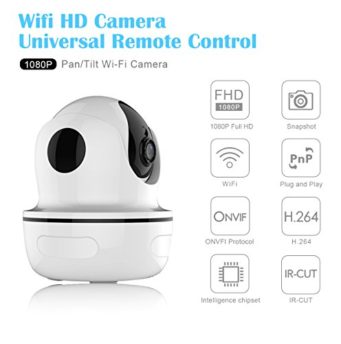 Security Camera, MixMart 1080P Smart