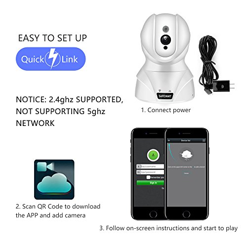 Security Camera, SAFEVANT HD Wireless