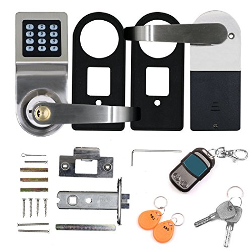 THINK SOGOOD Electronic Door Lock Keypad Keyless Smartcode Digital Home Security Lock