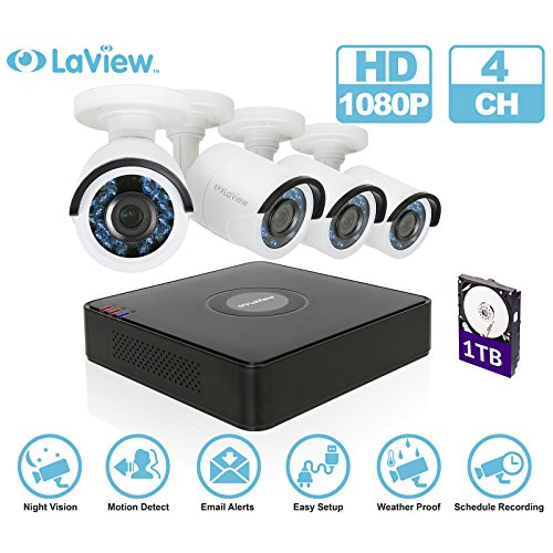 LaView 1080P HD 4 camera