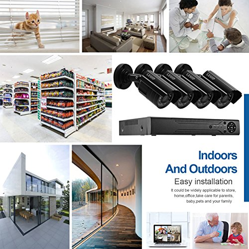 LESHP AHD 720p Video Security