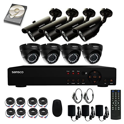 SANSCO CCTV Security Camera System