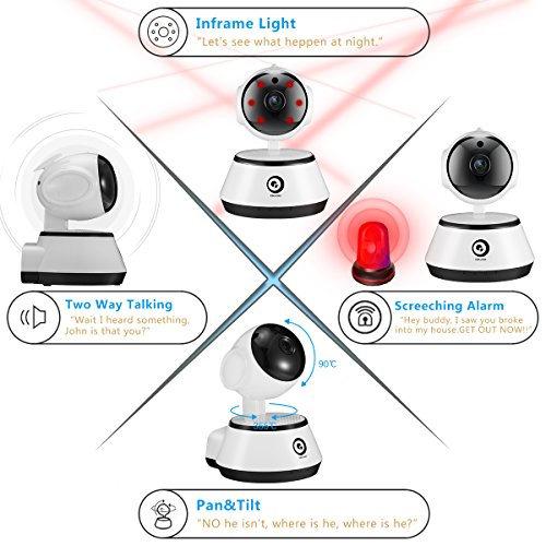 Security Surveillance System, DIGOO-M1Z 1080P