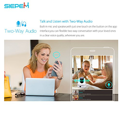 SIEPEM 1080P Home camera,Indoor camera/Wifi