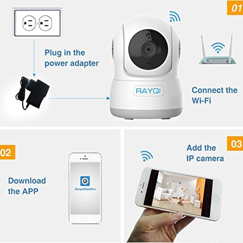 Wireless Security IP Camera, RAYQI