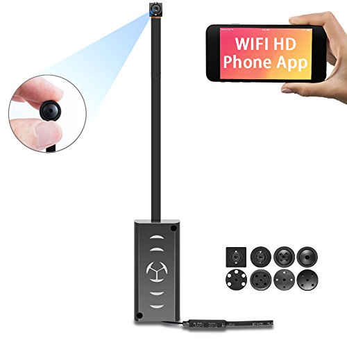 1080P HD WiFi Spy Camera