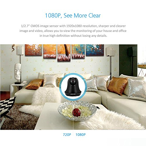 KeeKoon 1080P Wireless/Wired IP Camera