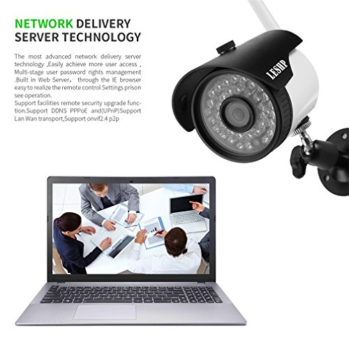 LESHP HD Security Camera Wireless