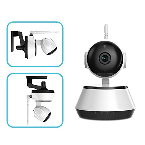 Titimor IP Cam,1080p HD Wi-Fi Indoor Smart Security Wireless Camera with Night Vision