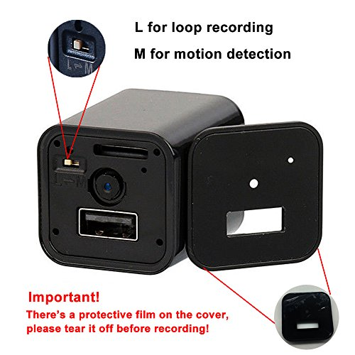 WiFi Wall Charger Camera –
