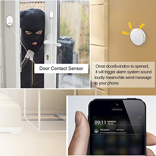 Wireless Door /Window contact sensor,Yasolote