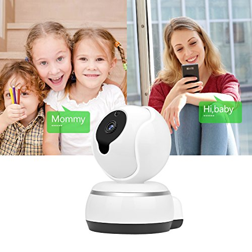 Zonlaky Wireless IP Security Surveillance System , 720p hd night vision two-way audio network monitor camera, indoor Camera for Pet Baby Monitor, Home Motion Camera ( with TF card slot)