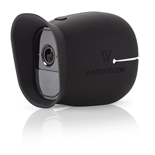 3 x Silicone Skins for Arlo Smart Security - 100% Wire-Free Cameras by Wasserstein ... (Arlo Pro, 3 x Black)