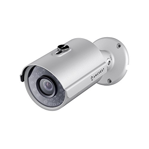 Amcrest Full-HD Video Security System -Weatherproof IP67 Bullet Cameras, 65ft IR LED Night Vision, HDD,Smartphone View (1.3MP IP POE NVR, 1.3MP 4CH NVR + 4 Bullets)