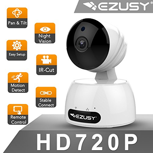 EZUSY 720P Wireless Security Camera,