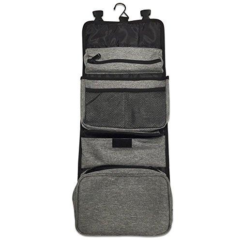 Hanging Toiletry Bag Business Makeup Travel Organizer Kit with 7 Pocket By Aohayo