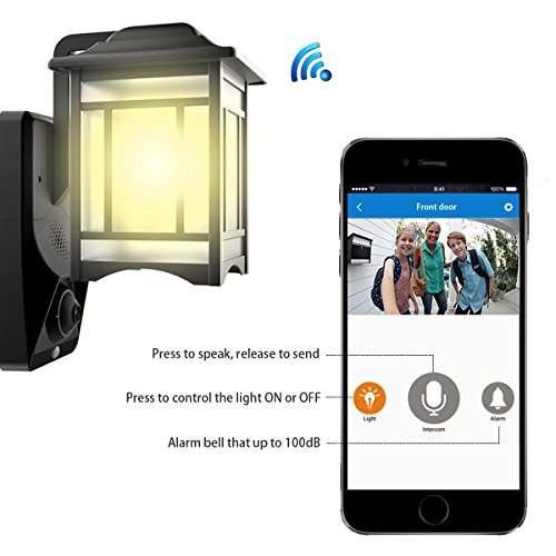 Lamp Camera Wifi Video Light