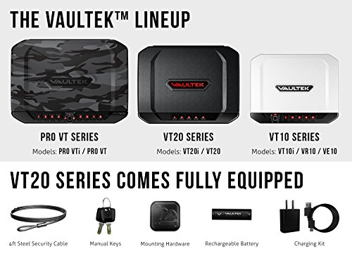 VAULTEK VT20 Handgun Safe Bluetooth