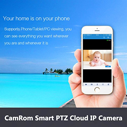 CamRom Smart PTZ Cloud 720P