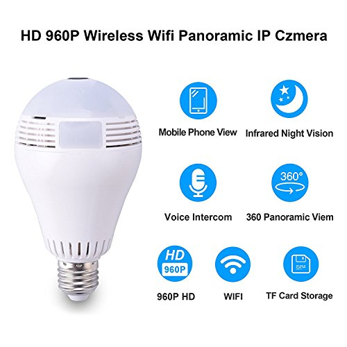 Light Bulb Camera -960P Hidden