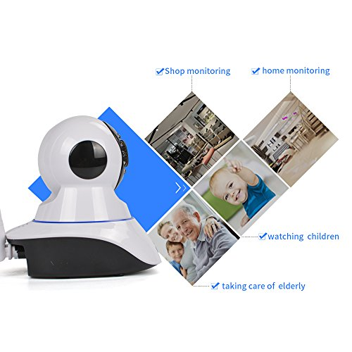 Radiance New 1080P-2Megapixel Smart Wireless IP Security Camera