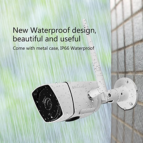 Vimtag | Focus B3-S Outdoor IP66 Weatherproof Camera | Outdoor Wireless IP Camera | Waterproof | Night Vision | Motion Detection | 1080P