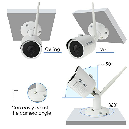 Wireless Security Camera System, Etration