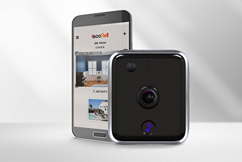 iseeBell Wi-Fi Enabled HD Video Doorbell with Two-way Audio, Night Vision and Smart App Control[Hardwired Version]