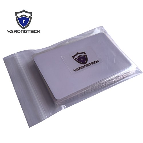 YARONGTECH MIFARE Classic 4K RFID Smart Card nfc Chip 13.56MHZ IC Hotel key card (pack of 10)