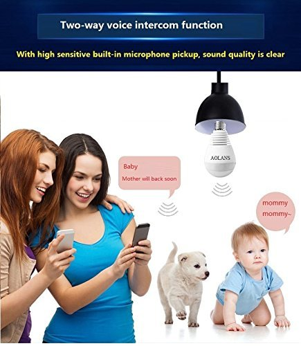 960P Wireless Camera With Indoor LED Camera Indoor Security System AOLANS