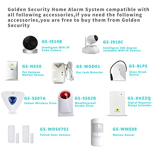 Golden Security GS-A01 Wifi Home