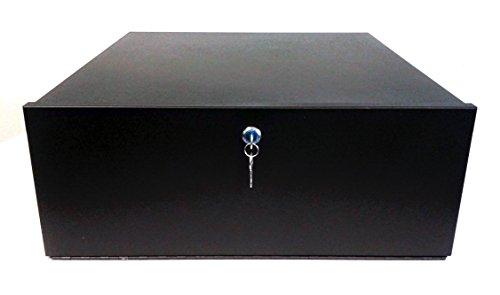 Smart Security Club DVR Lock-Box, 21 x 21 x 8 inch, Fan, Heavy Duty 16 Gauge