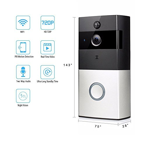 Wifi Wireless Video Doorbell, Home