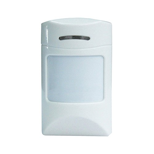 iSmartSafe Wireless Home Security System Basic Package - Cellular and WiFi Burglar Alarm - White