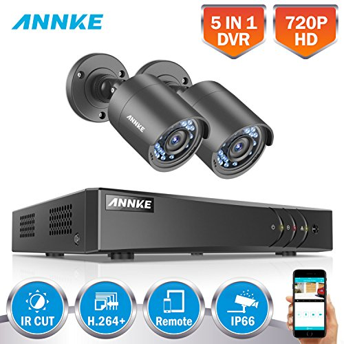 SANNCE 4CH 720P Video Security