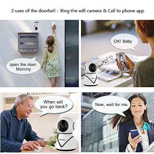 eLinkSmart WiFi Camera Kit Home