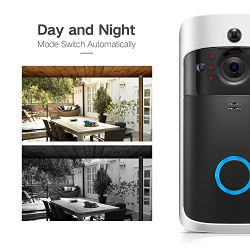 GJT Smart Video Doorbell Wireless