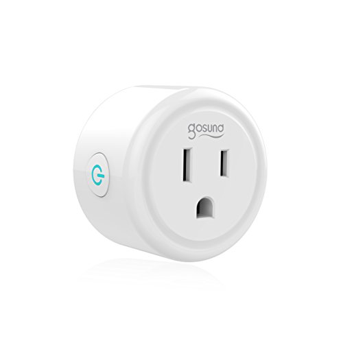 Mini Smart Plug Outlet Works with Amazon Alexa Google Assistant IFTTT, No Hub Required, ETL and FCC Listed Wifi Enabled Remote Control Smart Socket by Gosund