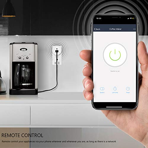 RENPHO Smart Plug, Mini Wireless