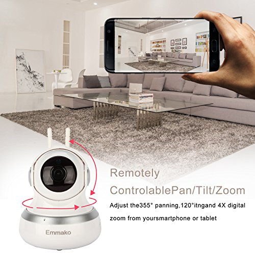 Emmako Wireless Security Camera 1080P