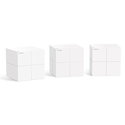 Tenda MW6 Nova Wave 2 802.11AC, Mu-Mimo Whole Home Wi-Fi Mesh System, 3-Pack