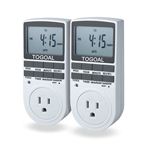TOGOAL TE02 Digital Light Timer